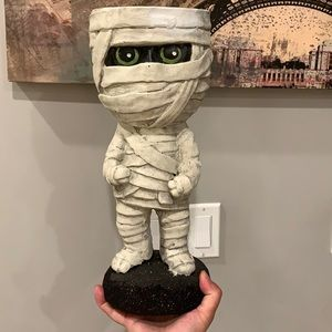 Melvin The Mummy pairs nicely with Rae Dunn